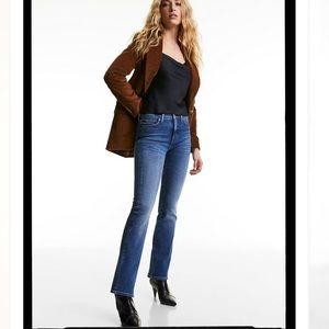 Denim Forum Aritzia Jane Mid Rise Boot Jeans